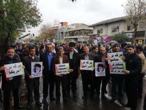 تظاهرات مردمی علیه اغتشاشگران در گرگان برگزار شد.