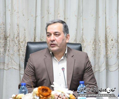 معاون اقتصادی استانداری گلستان: توان مدیریت استان معطوف به ایجاد اشتغال و رونق اقتصادی است.