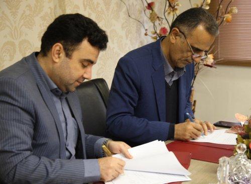 امضای تفاهم نامه همکاری بین اداره کل تعاون کار و رفاه اجتماعی و بانک ملی استان گلستان