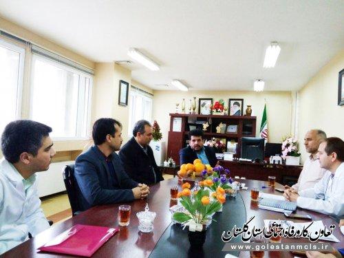 بیمارستان خاتم الانبیاء (ص) گنبدکاووس و دانشگاه آزاد اسلامی تفاهم نامه امضا کردند.