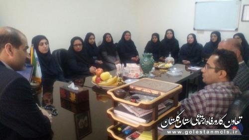 بازدید و نشست صمیمی مدیرکل آموزش فنی و حرفه ای استان گلستان از مرکز خواهران گرگان