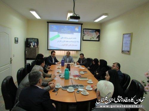 اعلام برنامه های هفته کار و کارگر شهرستان علی آبادکتول