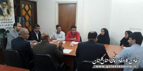 جلسه ستاد اشتغال شهرستان آزادشهر برگزار شد