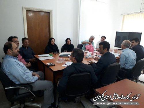 جلسه هماهنگی تسریع در پرداخت تسهیلات اشتغالزایی آزادشهر برگزار شد