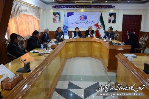دومین جلسه ستاد استانی بزرگداشت هفته ملی مهارت با حضور مدیرکل تعاون ، کار ورفاه اجتماعی برگزارشد