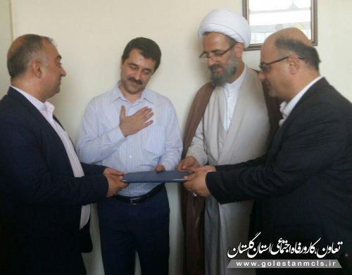 نماینده و فرماندار آزادشهر از خدمات درمانی سازمان تقدیر کردند.