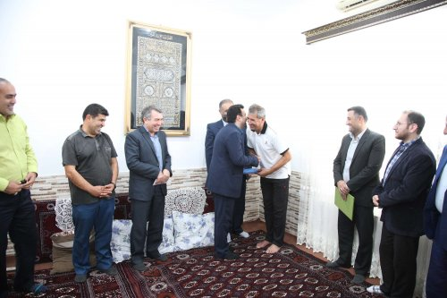 «ابراهیم سن سبلی» سفیر مبارزه با مواد مخدر در استان گلستان شد