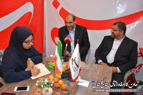 بازدید مدیر کل آموزش فنی وحرفه ای استان گلستان از نمایشگاه مطبوعات ورسانه
