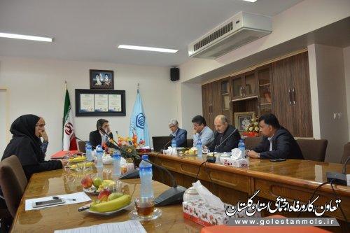 ارزیابی فضای عمومی مدیریت درمان تامین اجتماعی استان گلستان