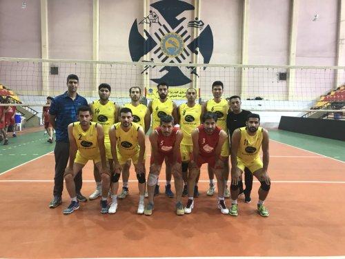 اعزام تیم والیبال کارگران گلستان به مسابقات قهرمانی کشور