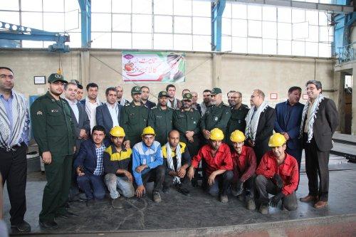 رزمایش «شیفت ایثار» در واحدهای کارگری گلستان برگزار شد