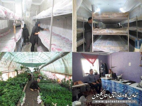 بازدید از طرح های موفق مشاغل خانگی شهرستان علی آبادکتول