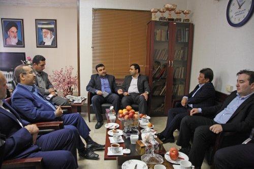 دیدار مدیرکل تعاون، کار و رفاه اجتماعی گلستان و نماینده گنبد در مجلس شورای اسلامی