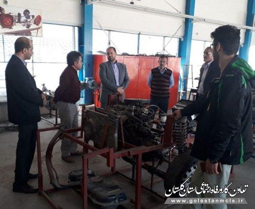 گزارش تصویری بازدید از دوره های کارآفرینی شهرستان آزادشهر