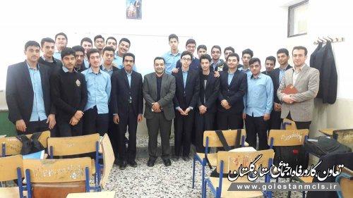 یحیی احمدپور: آموزش کار آفرینی در مدارس، آینده شغلی آنها را تضمین می کند