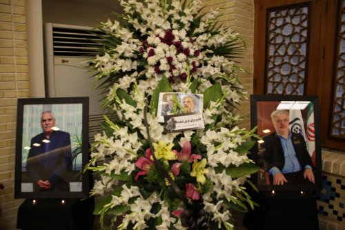 مراسم ترحیم و یادبود دکتر نوربخش و دکتر تاج الدین در گرگان برگزار شد