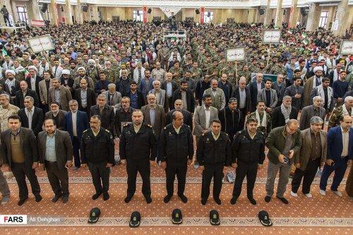 جامعه تعاون، کار و رفاه اجتماعی گلستان همگام با مردم در تجمع بزرگ بسیجیان استان