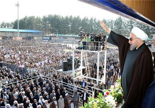 پیام دعوت از جامعه بزرگ تعاون، کار و رفاه اجتماعی برای استقبال از دکتر روحانی