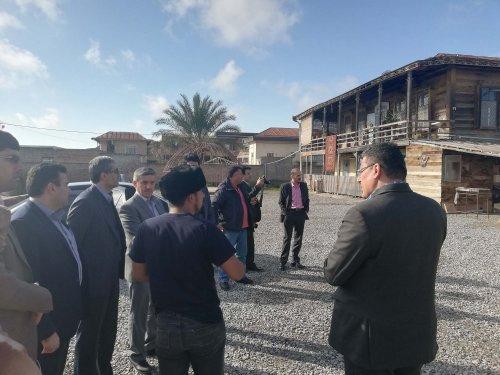 بازدید مدیرعامل صندوق کارآفرینی امید از پروژه های اشتغالزای گردشگری گمیشان