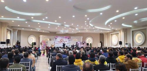 جشن بزرگ انقلاب در گرگان برگزار شد