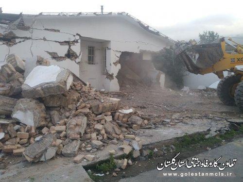 آغاز عملیات اجرایی پلی کلینیک تامین اجتماعی علی آباد کتول