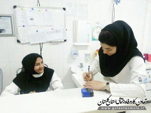 بهره مندی روزانه 250 نفر از خدمات پرستاری پلی کلینیک امام خمینی (ره)گرگان