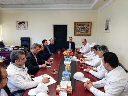 بازدید معاون سیاسی امنیتی استانداری از شرکت پگاه گلستان