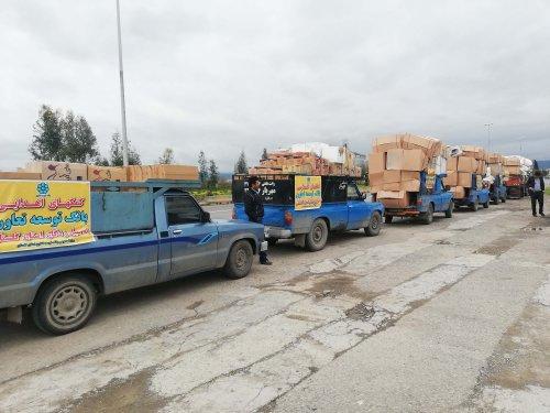 ارسال کمک های دستگاه های تابعه وزارت تعاون، کار و رفاه اجتماعی به مناطق سیل زده گلستان