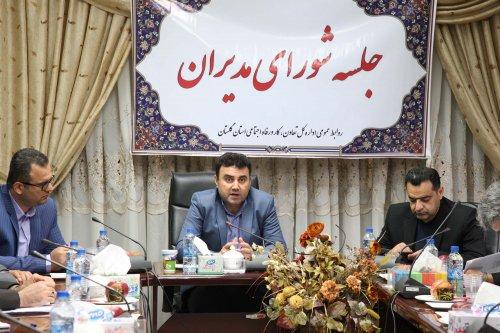 مدیرکل تعاون، کار و رفاه اجتماعی گلستان تاکید کرد: لزوم ادامه روند امدادرسانی به مناطق سیل زده