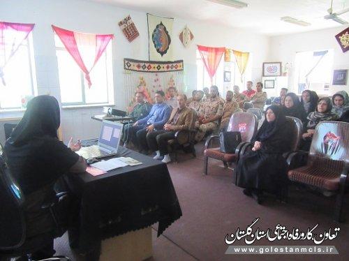 دوره آموزشی پیشگیری از اعتیاد در گالیکش برگزار شد