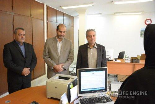 معاون سیاسی،امنیتی و اجتماعی استانداری گلستان از اداره کل آموزش فنی و حرفه ای بازدید کرد