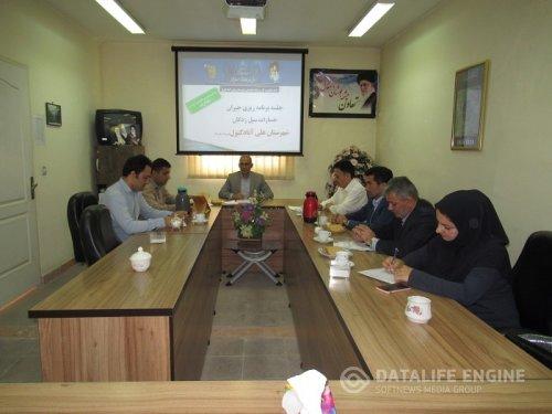 جلسه برنامه ریزی جبران خسارات سیل زدگان در شهرستان علی آبادکتول برگزار شد
