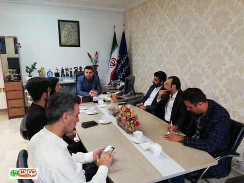برنامه توان مثبت/ نشست کارآفرینان جوان با مدیرکل تعاون، کار و رفاه اجتماعی استان گلستان