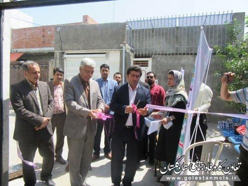 به مناسبت هفته دولت طرحهای روستایی در گالیکش افتتاح شد