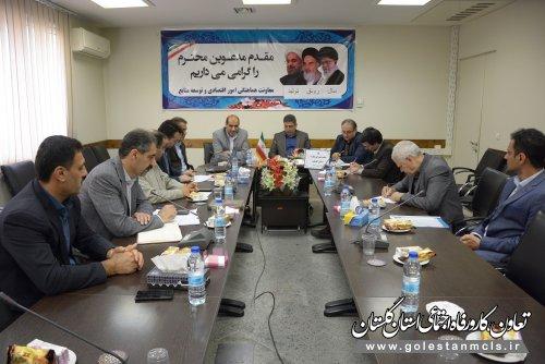 اولین جلسه شورای مهارت استان گلستان برگزار شد