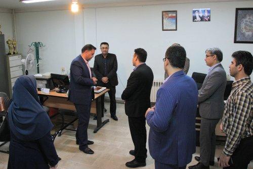 دیدار مدیرکل امور استانها با کارکنان اداره کل تعاون، کار ورفاه اجتماعی گلستان