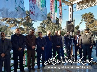 توسط کارکنان تعاون کار ورفاه اجتماعی  کردکوی انجام شد: غبار روبی و عطر افشانی گلزار شهدا