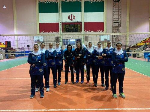 گلستان برای نخستین بار قهرمان مسابقات والیبال بانوان کارگر کشور شد